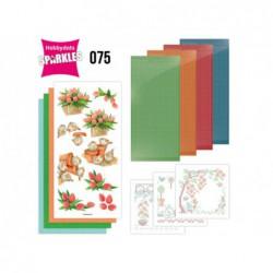 Joulee Violet Fabric Flowers