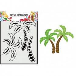 LA TIZA- TRIO Fabric Flowers